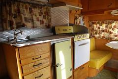 Travel Trailer Kitchen Organization Ideas