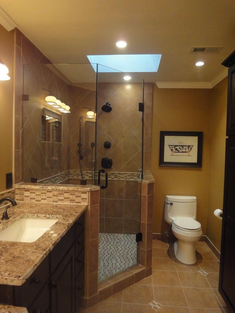 Frameless Glass Enclosed Shower | Generation Tile & Stone | Flickr