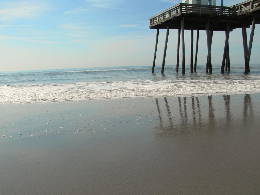 Fishing pier ocean city nj lisaclarke flickr for Ocean city nj fishing report