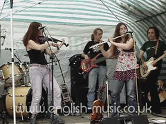 Mary Jane band at Romsey Beggars Fair, 2007.