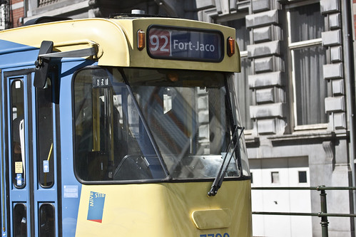 Brussels - The 92 Tram On Its Way To Fort-Jaco | by infomatique