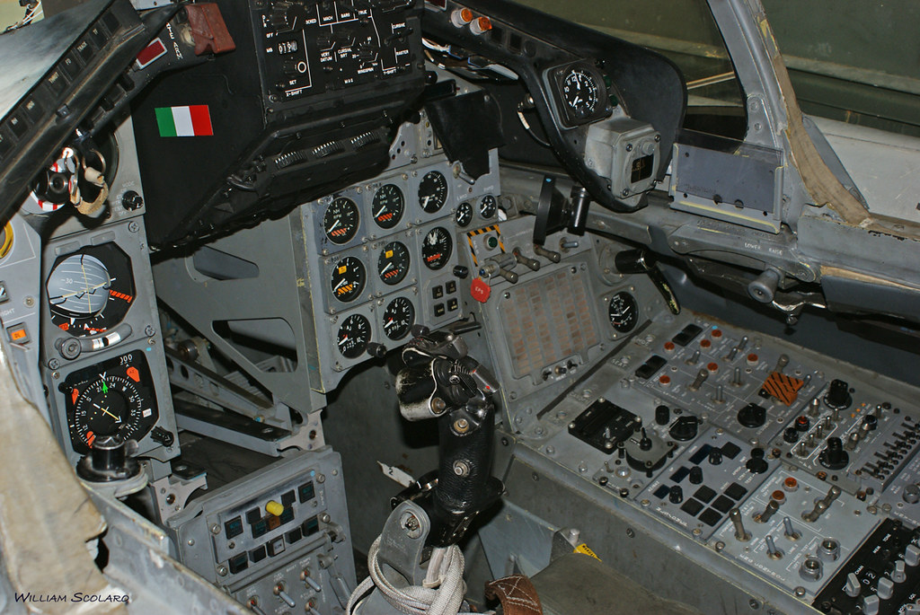 Panavia Tornado Ecr Cockpit Cockpit William Scolaro