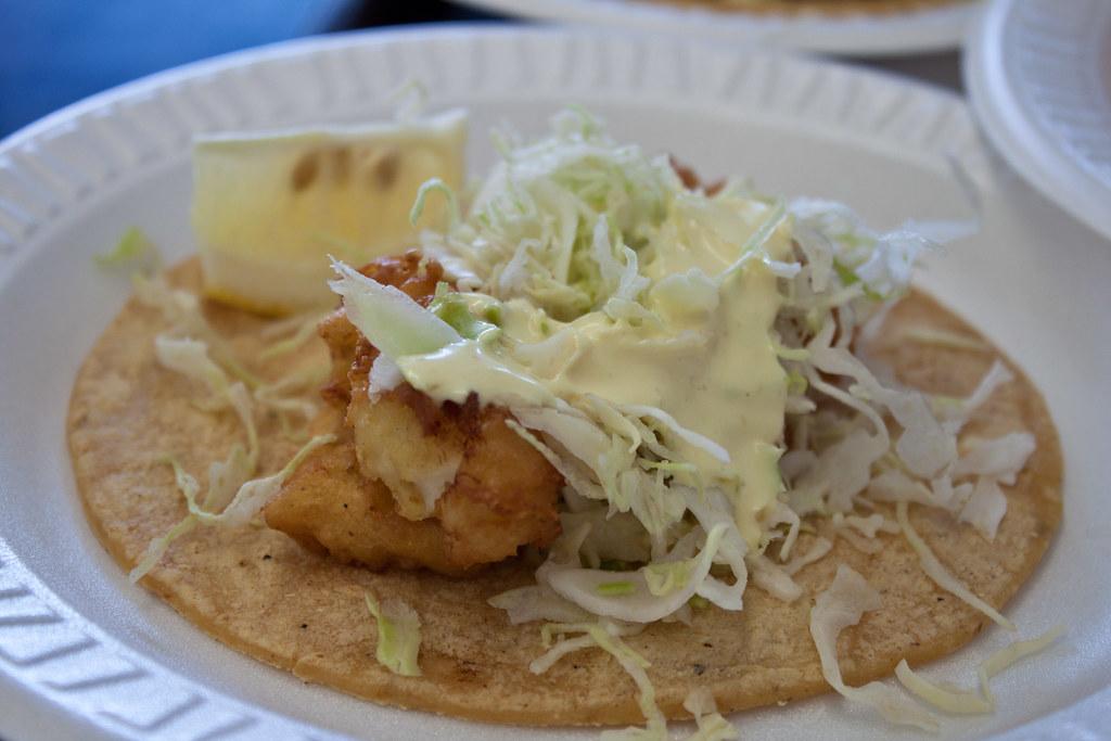 Baja fish taco baja fish taco fried cod from baja fish for Fish tacos cod