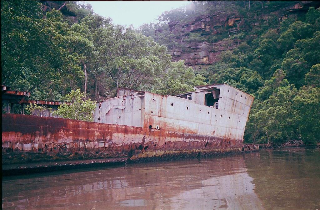 CENTENARY SPECIAL: GEOFF EASTWOOD'S HMAS PARRAMATTA [I] WR… | Flickr