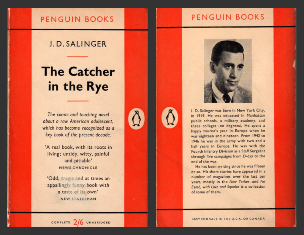 "the impossible job in jd salingers catcher in the rye Mr salinger's literary the novel ""the catcher in the rye,"" the collection ""nine stories whose job was to interview nazi."