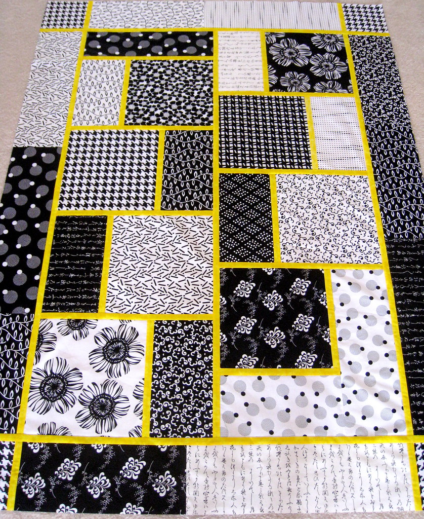 The Big Block Quilt Great Beginner Quilt Fast And Easy L Flickr