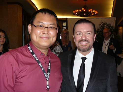 Ricky Gervais & me | by k-ideas
