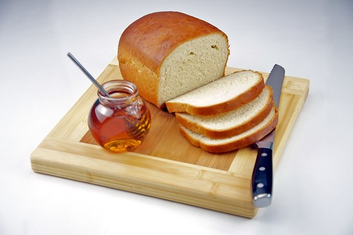 Homemade White Bread with Honey | by TheCulinaryGeek