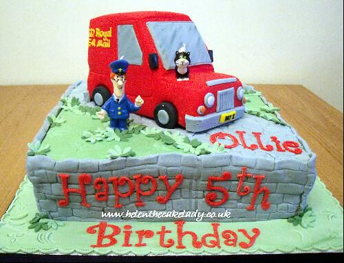 3d Postman Pat Birthday Cake 3d Postman Pat Birthday