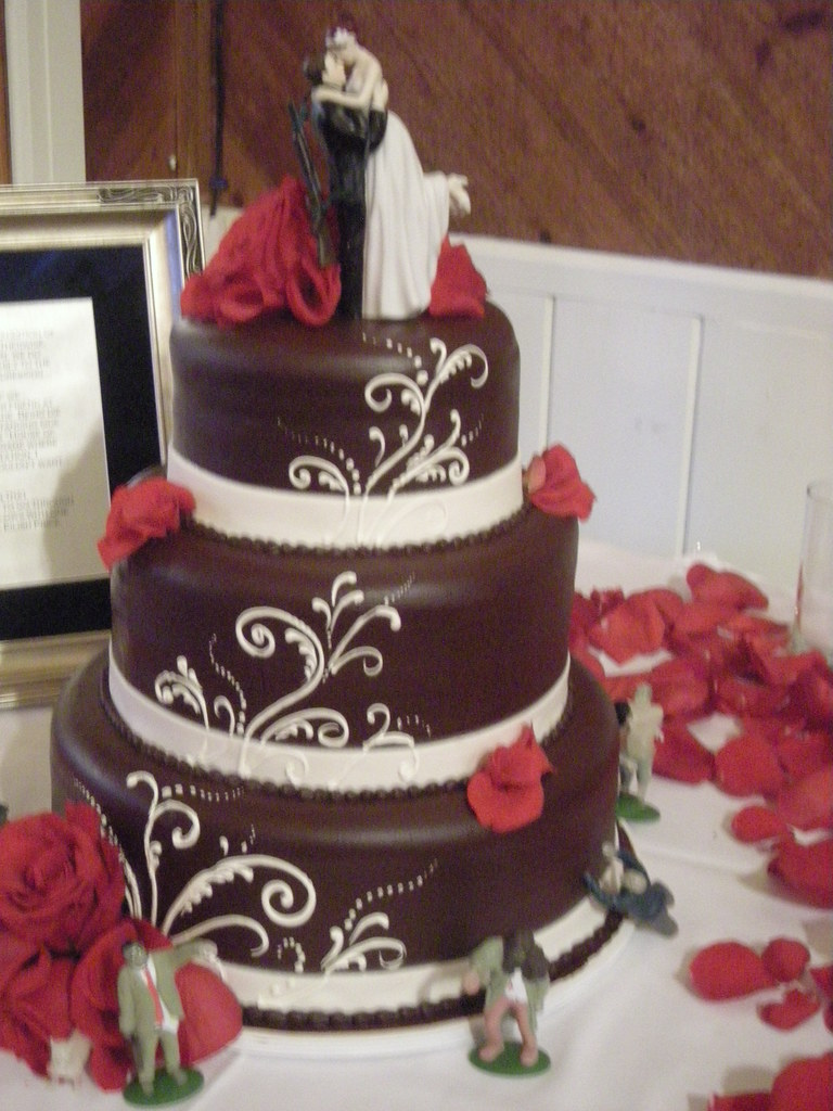 chocolate ganache wedding cakes pictures chocolate ganache wedding cake 503 www asweetdesign 12717