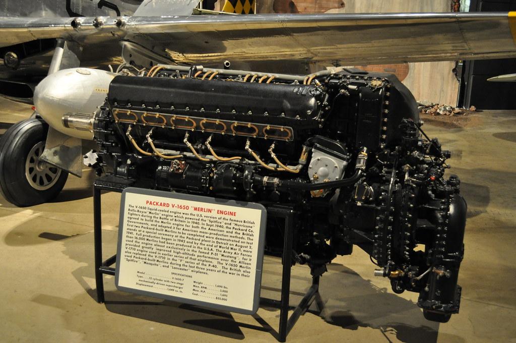 Packard V 1650 Merlin Rolls Royce Merlin Following The