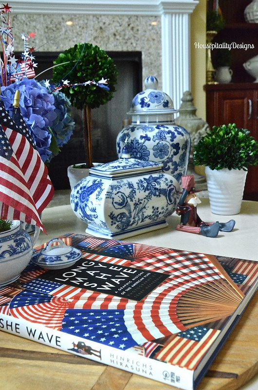 Independence Day Table Tablescape-Housepitality Designs