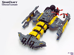Starcraft Battlecruiser Titow | by Jerac
