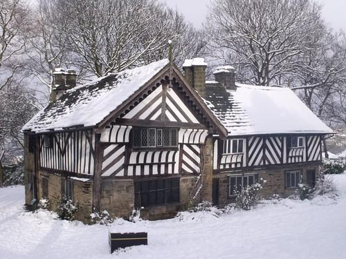 Bishops house in snow heeley norton lees meersbrook for The bishop house