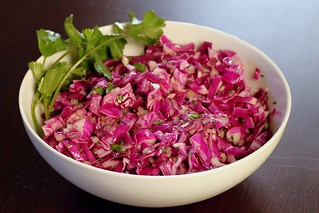 red cabbage slaw | by Stacy Spensley