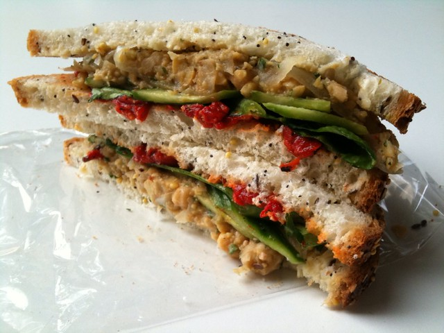 Chickpea Salad Sandwich *Delivered* by @LABento   Vegetarian ...