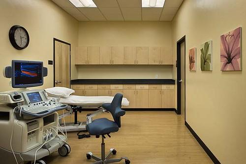 Ultrasound Room | Interior, horizontal, ultrasound room