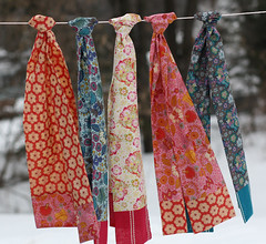 Little Folks Voile Scarves | by twinfibers