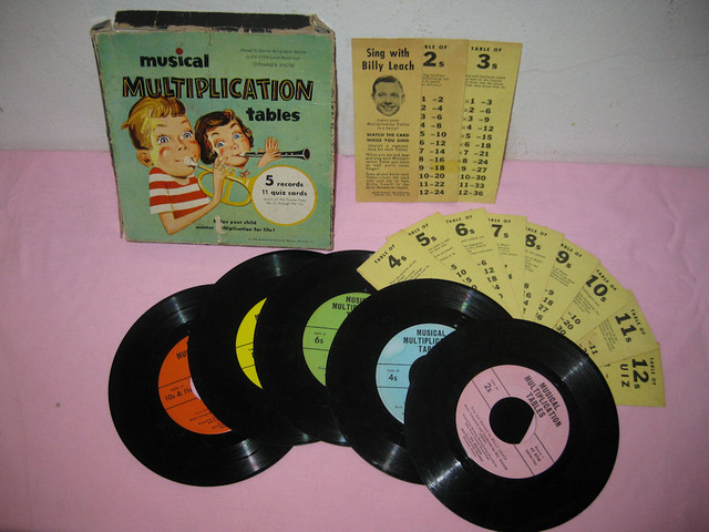 Musical Multiplication Tables By Billy Leach The Billy Lea Flickr