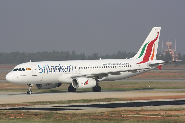 Sri Lankan A320-232 4R-ABJ