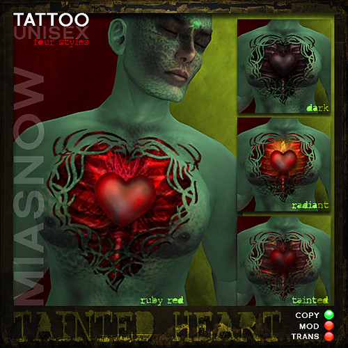 tainted heart tattoos miasnow tattoo pack for the