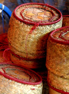 Sticky Rice Baskets - Laos | by The Hungry Cyclist