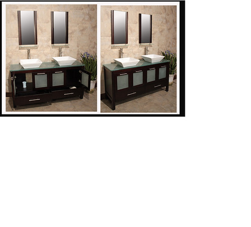 Tivoli 60 Ceramic Sink Espresso Bathroom Vanity For Furthe Flickr