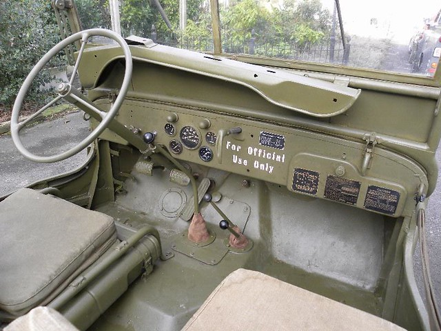 Willys Mb 1943 Jeep Inside Kapaza Willem S Knol Flickr