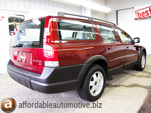 2001 volvo xc70 red 6234 new timing belt 3rd row seats. Black Bedroom Furniture Sets. Home Design Ideas