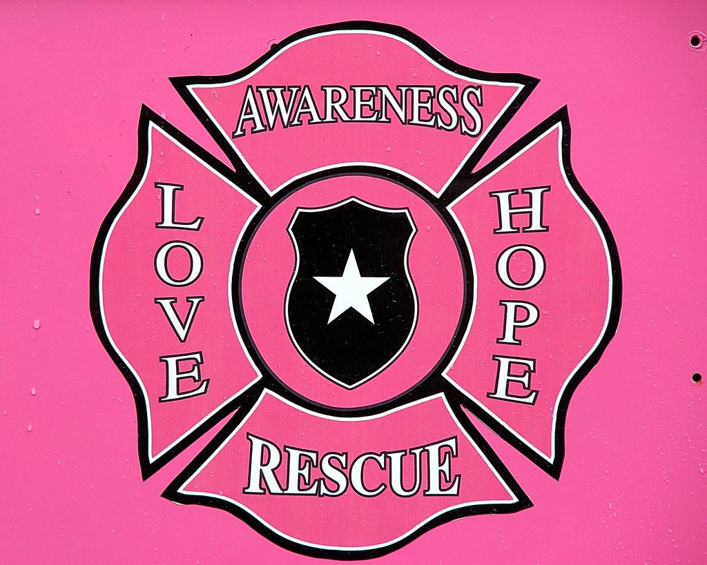 pink heals fire truck emblem parada del sol scottsdale. Black Bedroom Furniture Sets. Home Design Ideas
