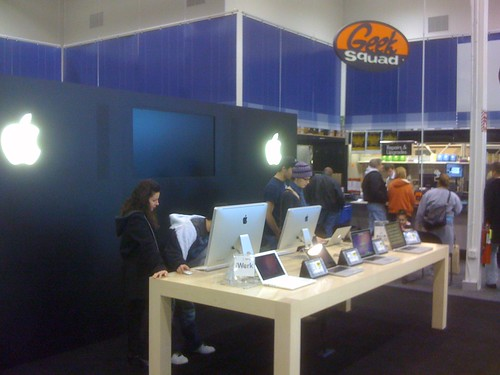 Weird they dropped a mini Apple Store inside Best Buy | by Tony Buser
