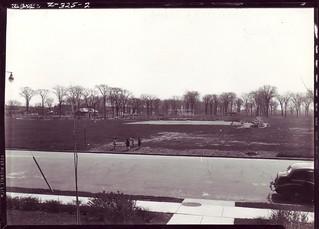 avril 1943 parc jarry et rue jarry,Montréal