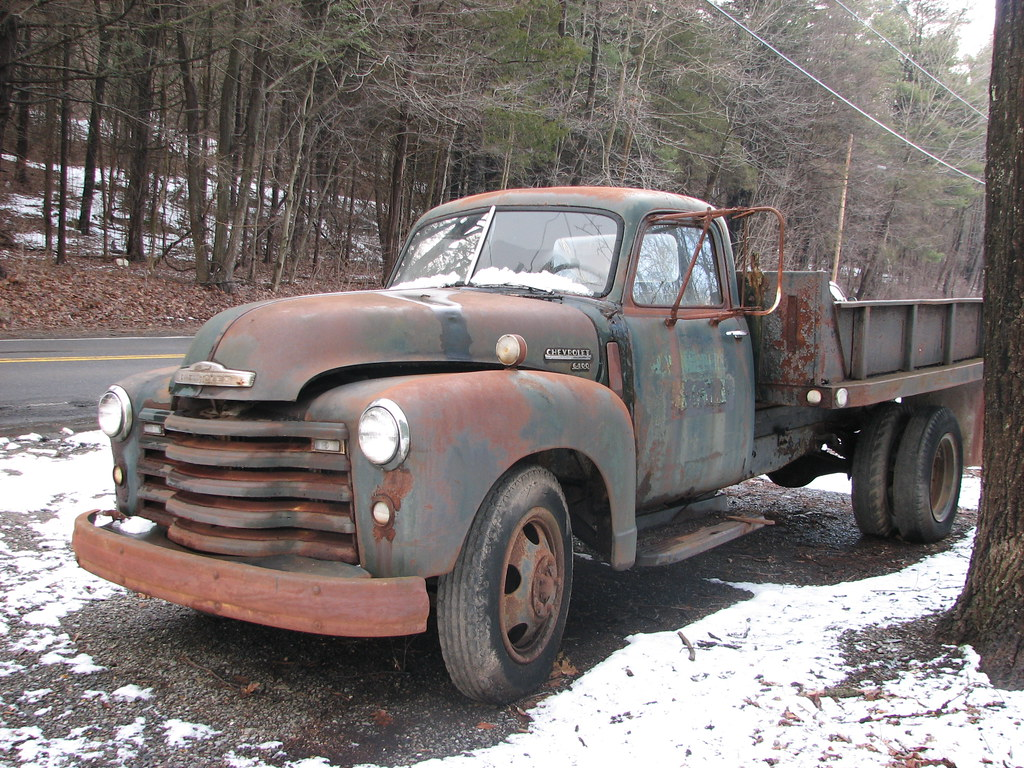 AN OLD CHEVY 6400 IN FEB 2010 | A 1948-50 model | RICHIE W | Flickr
