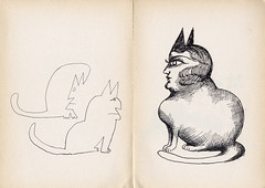 Saul SteinbergSaul Steinberg – Cats | by laura@popdesign