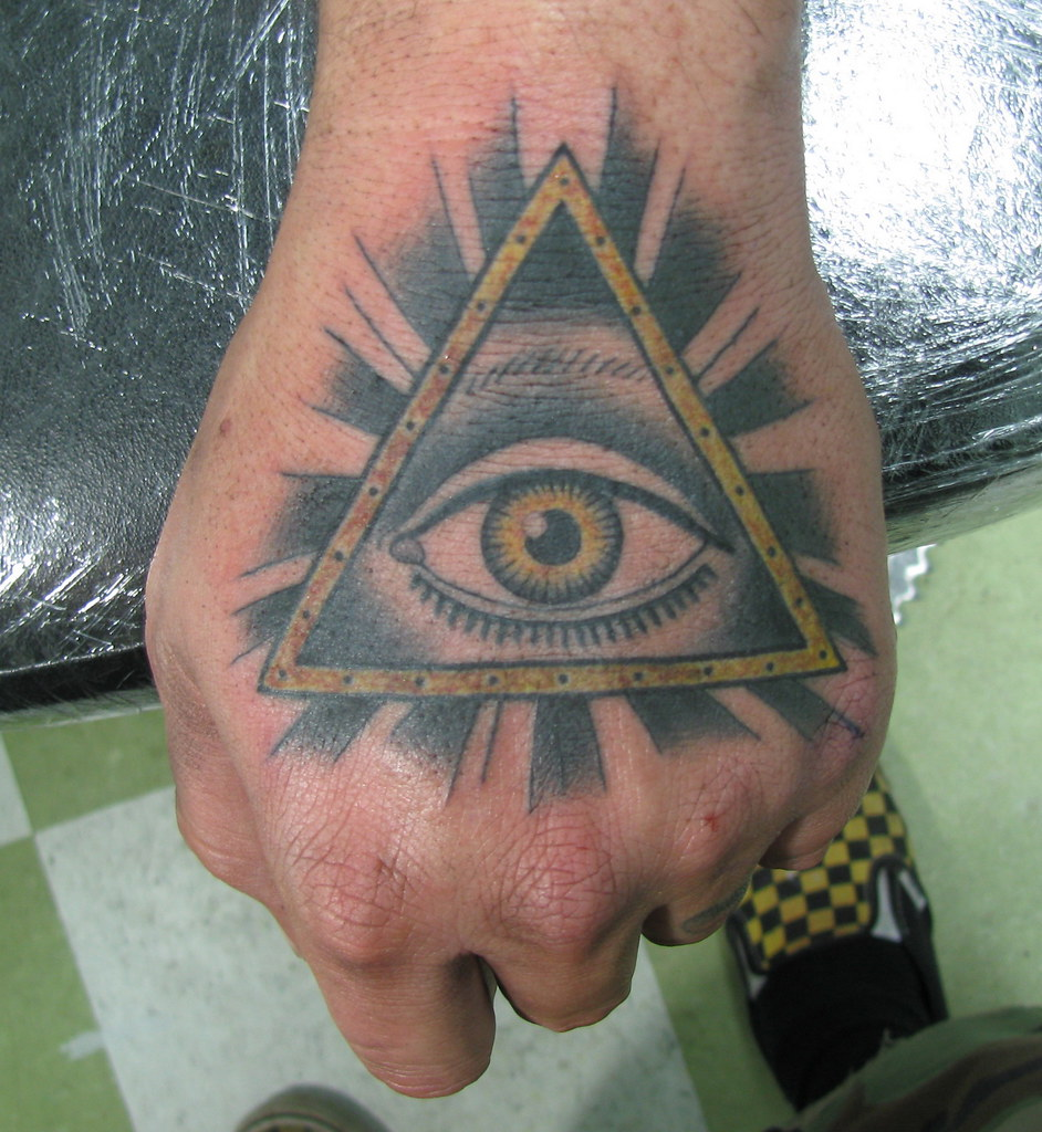 Eye Of Illuminati Tattoo Fernando Casillas Flickr