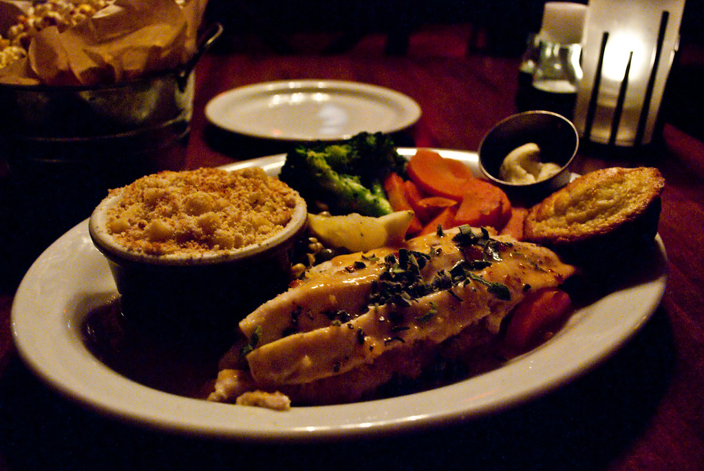 Broiled Rainbow Trout & Baked Macaroni | Broiled Rainbow ...