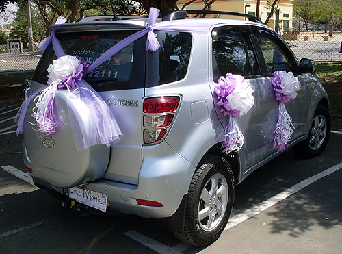 Wedding wedding car cars wedding cars decoration decor for Automobile decoration