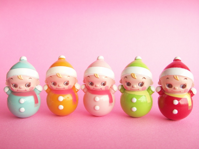 Kawaii Cute Miniature Baby Roly Poly Collection Japanese T