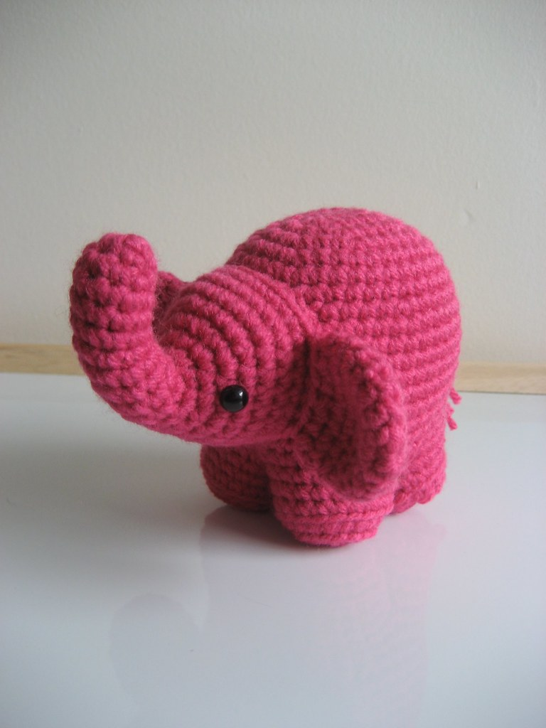 Amigurumi Elephant This is the newest addition to my ...