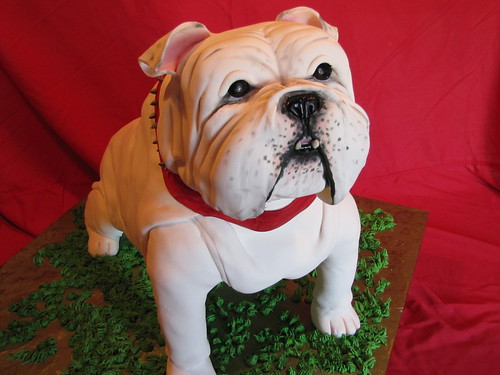 Bulldog Cake 4 | by EForkey (formerly EB Cakes)