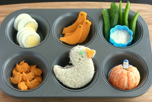 Muffin Tin Monday - birds and nests | by anotherlunch.com