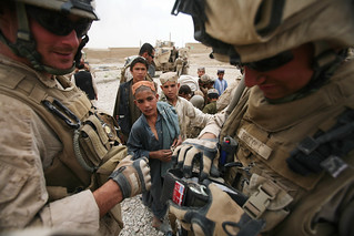 Marines buy items from local Afghans | by United States Marine Corps Official Page