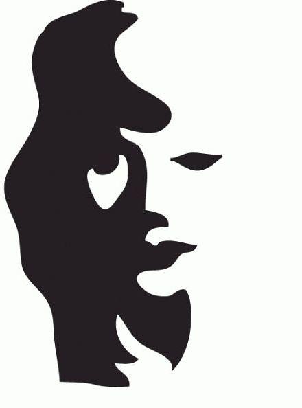 Man Playing Horn... Or Woman's Silhouette | رجل المستحيل ...