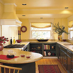Galley Kitchen with Bar from ThisOldHouse.com | by espeedy123
