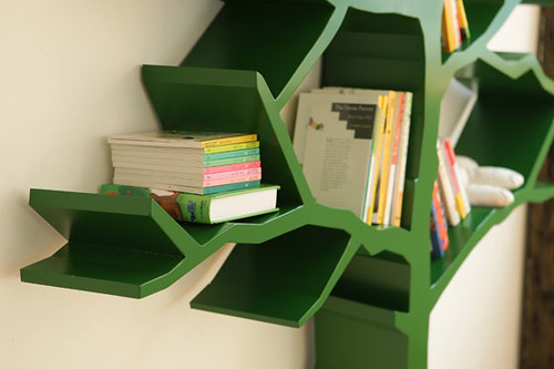 A tree bookcase © 2009 designartist, all rights reserved | by Redesign Magazine