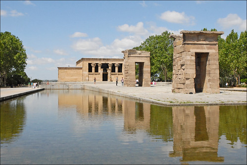 Le temple de Debod (Madrid) | by dalbera