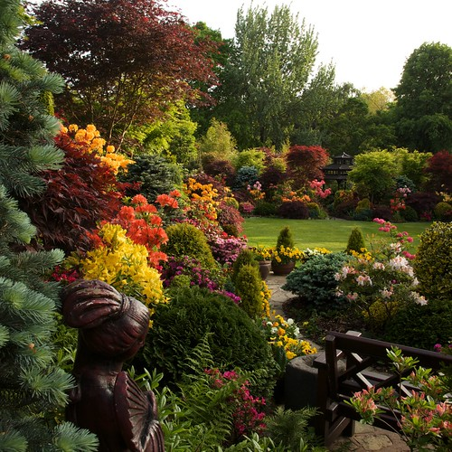 Peace and beauty in the upper garden (May 25) | by Four Seasons Garden