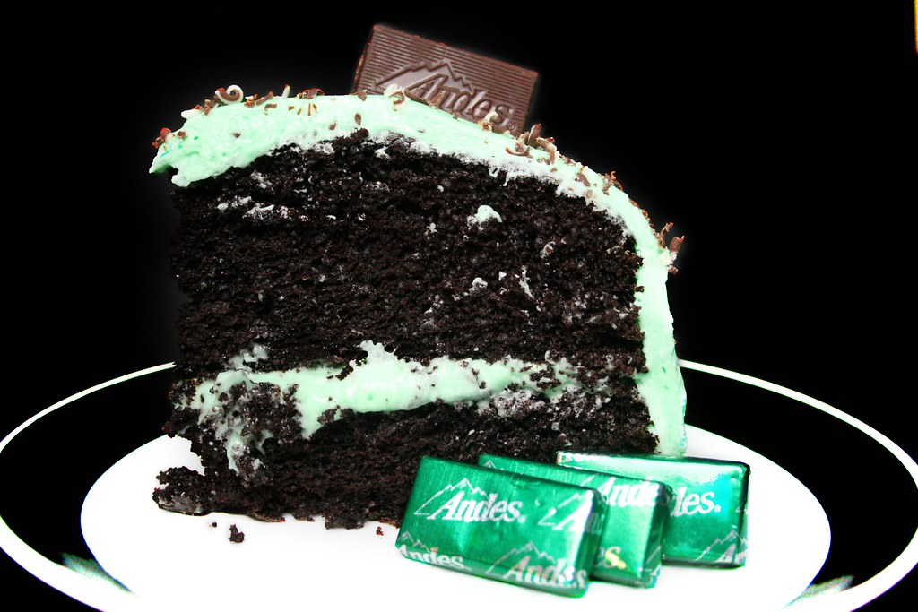 andes mint cake andes mint chocolate cake mint cake that i made 1299