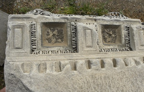 Fragments of decoration from the agora of smyrna for Agora decoration