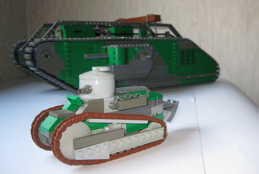 Tanks Of Wwi The Idea For Wwi And Tanks Until 1925 Is A